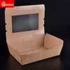 Fast Food Paper Lunch Box with Window