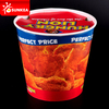 Disposable custom printed fried chicken paper box with lid