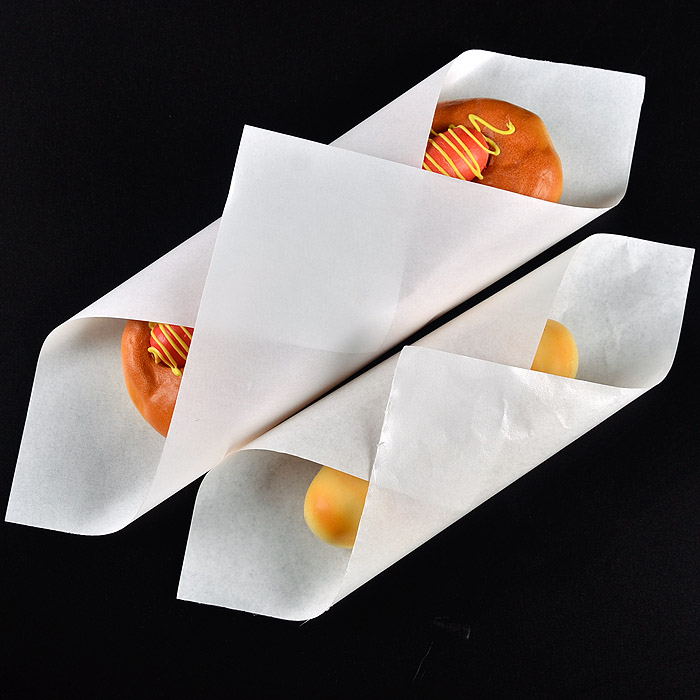 Custom Logo Printed Greaseproof Sandwich Burger Paper